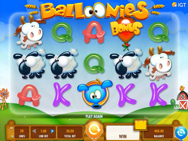 baloonies farm new slots